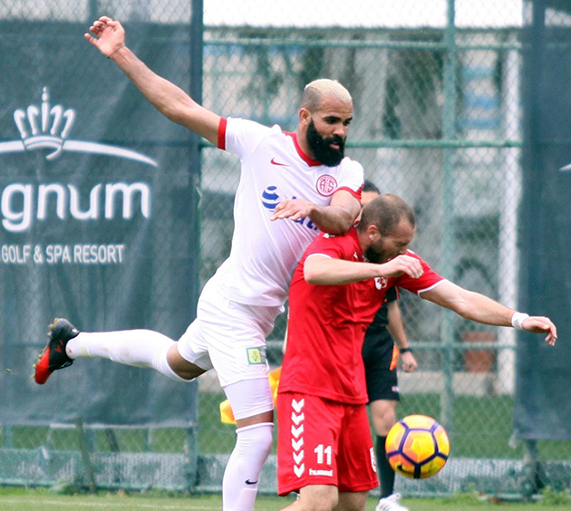 Sandro Antalyaspor'dan Ayrıldı