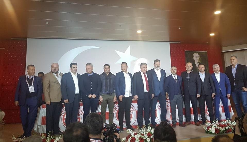 Antalyaspor'un Yeni Yönetim Kurulu Belli Oldu