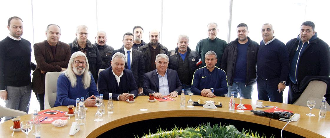 Eski Tribün Liderlerinden Antalyaspor'a Ziyaret