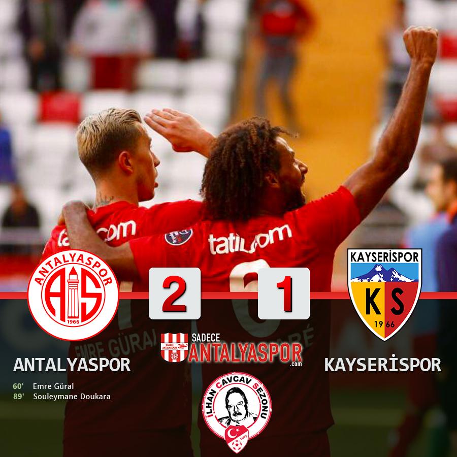 Antalyaspor 2 – 1 Kayserispor