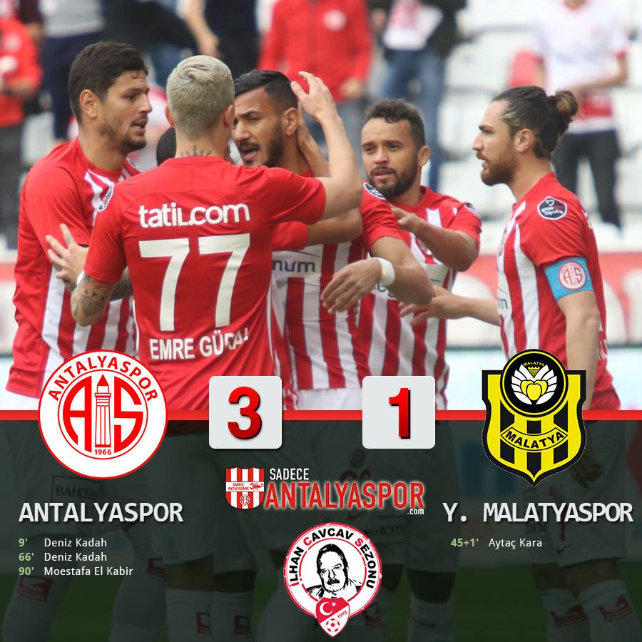 Antalyaspor 3 – 1 Yeni Malatyaspor