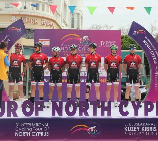 Bisiklet Takımı Kuzey Kıbrıs Bisiklet Turu'na Katıldı