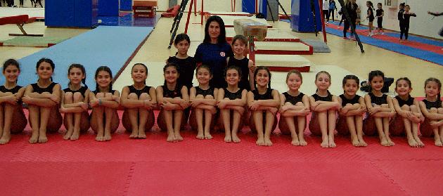 Cimnastik Takımı Okullararası Müsabakalara Katılacak