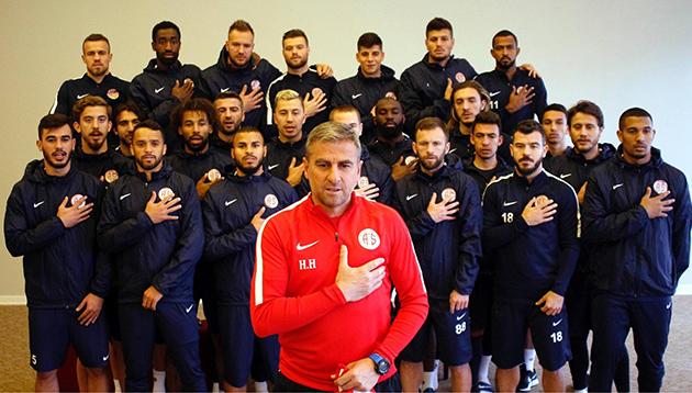 Antalyaspor'dan Zeytin Dalı Harekatı'na Destek
