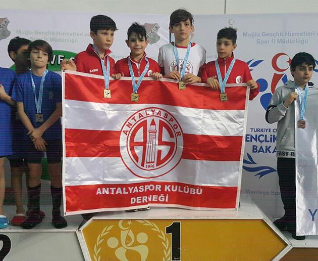 Gelişim Yarışları'na Antalyaspor Damgası