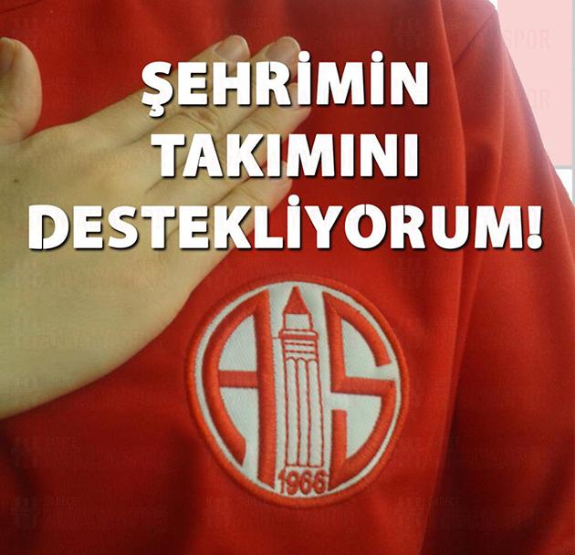 """Antalyaspor Camiası Twitter'da """"Kenetlendi"""""""