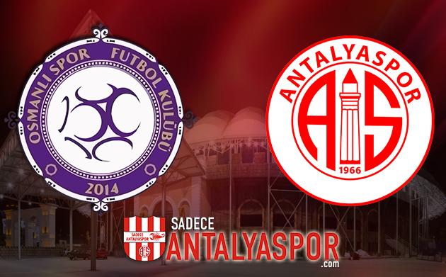 Osmanlıspor – Antalyaspor (KADROLAR)