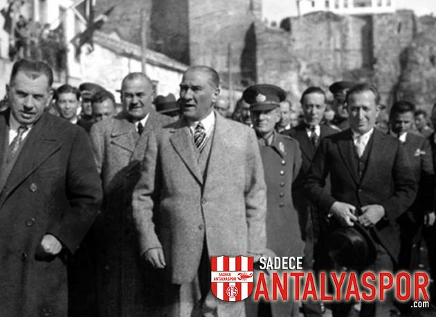 6 Mart – Atatürk'ün Antalya'ya Gelişi