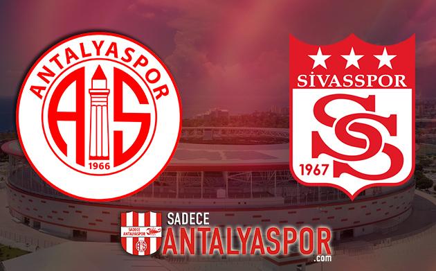 Antalyaspor – DG Sivasspor (KADROLAR)