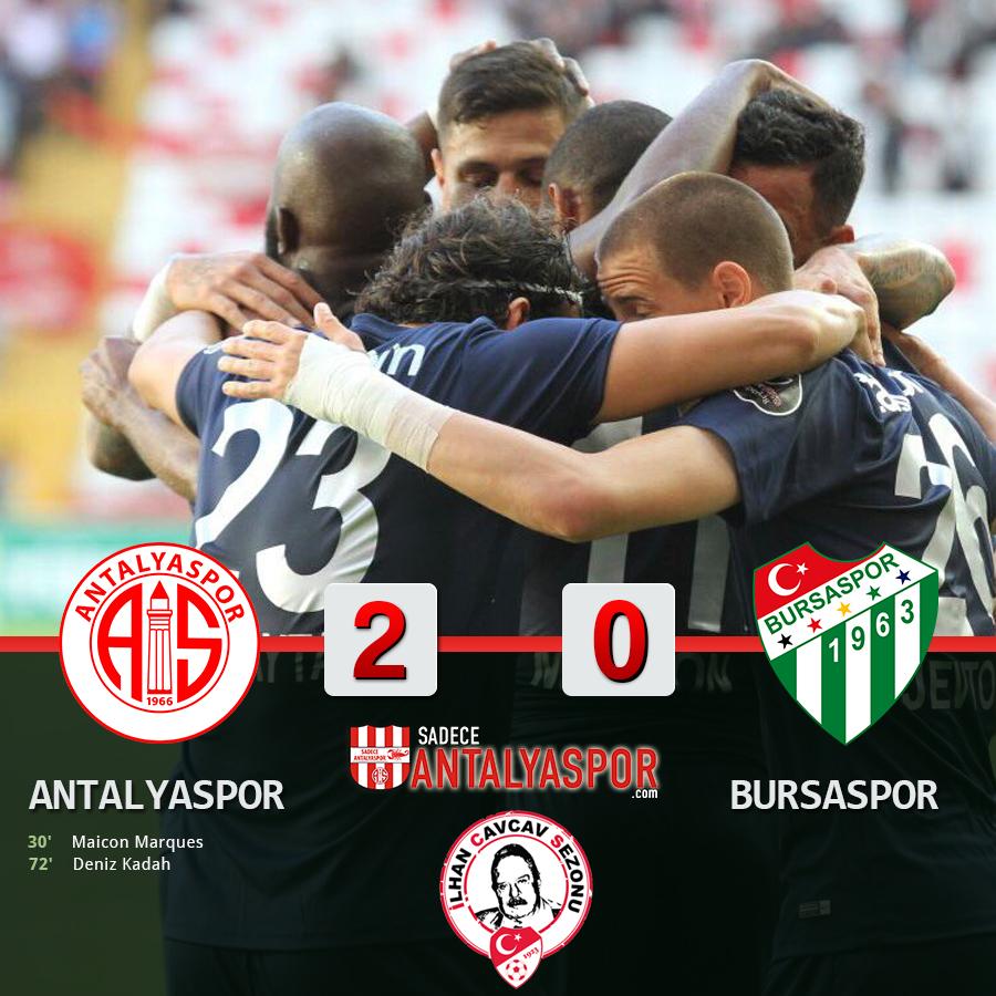 Antalyaspor 2 – 0 Bursaspor