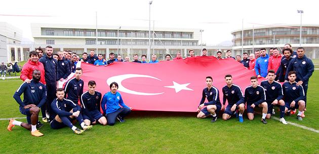 Bursaspor Maçının Hazırlıkları Devam Ediyor