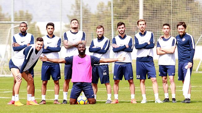 Antalyaspor Dayanıklılık Çalışması Yaptı