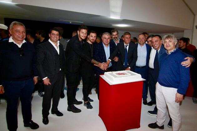 Antalyaspor Ailesi Yemekte Bir Araya Geldi