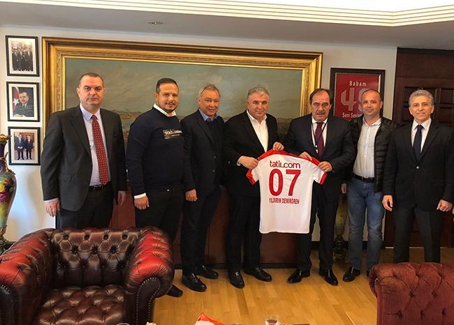 Antalyaspor'dan Demirören'e Ziyaret