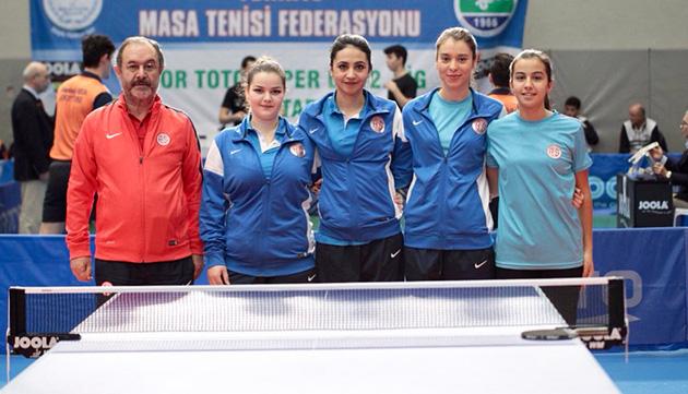 Masa Tenisi Takımı Son Etap İçin İstanbul'a Gidiyor