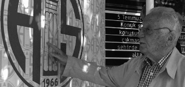 Antalyasporumuzun Kurucusu Atilla Vehbi Konuk'u Saygıyla Anıyoruz