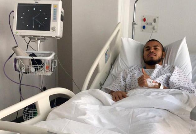 Danilo Londra'da Operasyon Geçirdi