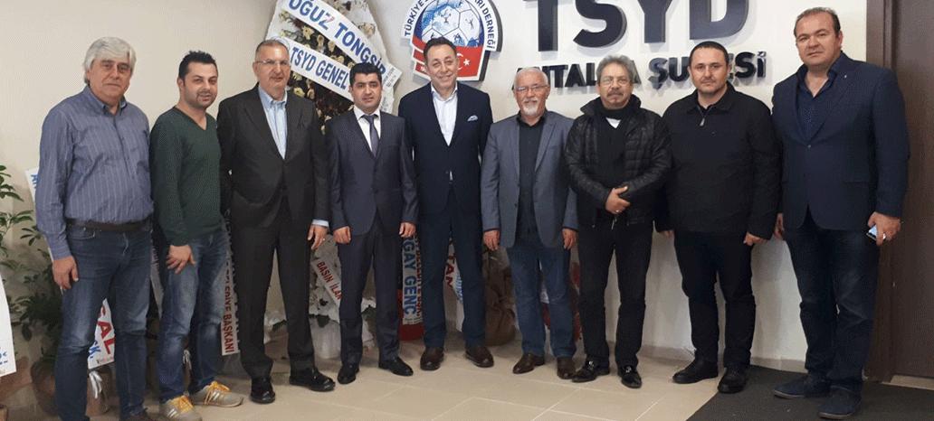 Antalyaspor Kulübü Derneği'nden TSYD Ziyareti