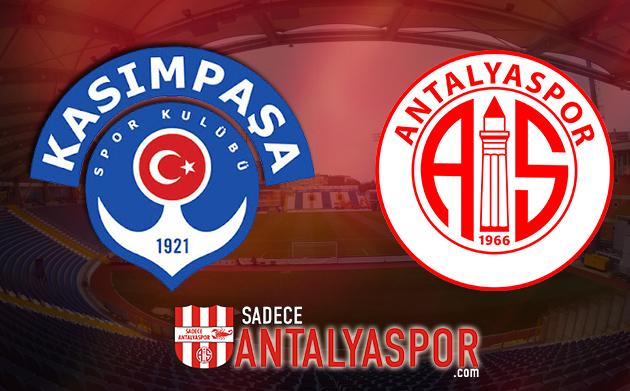 Kasımpaşa – Antalyaspor (KADROLAR)