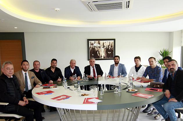 Antalyaspor'a KONGED'den Destek