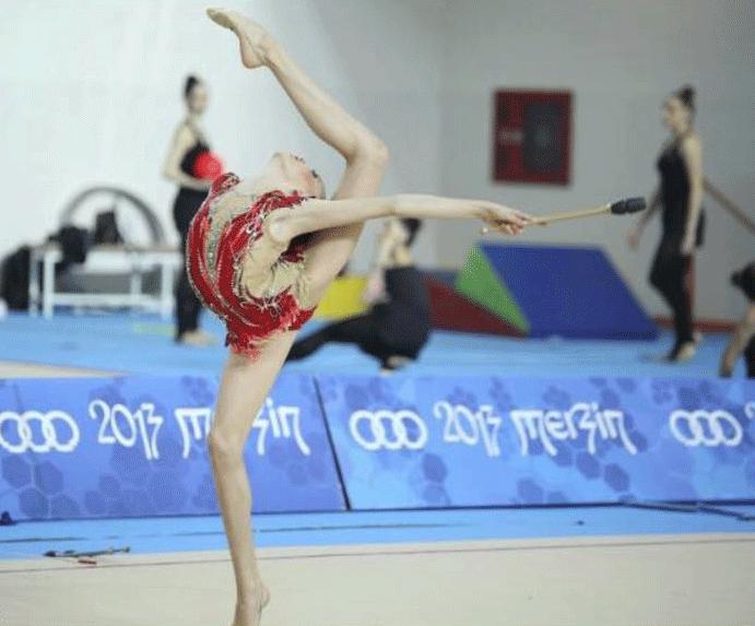 Antalyasporlu Cimnastikci Milli Takımda