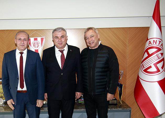 Osman Öz'den Başkan Bulut'a Ziyaret