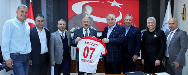 Yönetim Kurulundan Hacıcaferoğlu'na Ziyaret