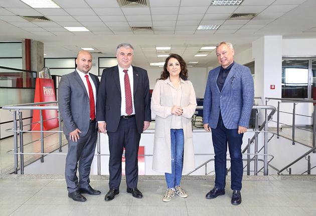 Antalyaspor'dan Hürriyet Gazetesi'ne Ziyaret