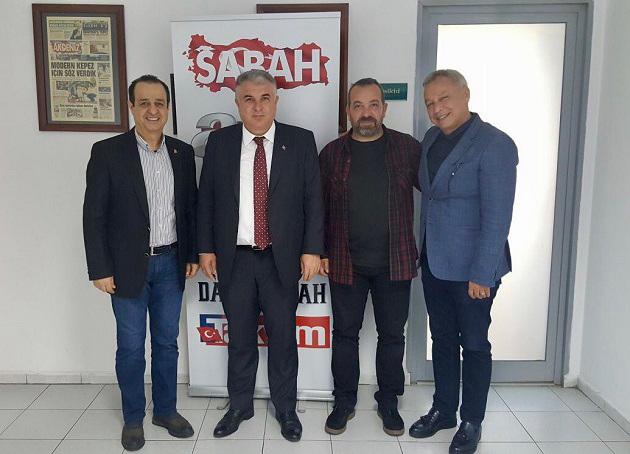 Antalyaspor Yönetiminden SABAH Gazetesi'ne Ziyaret