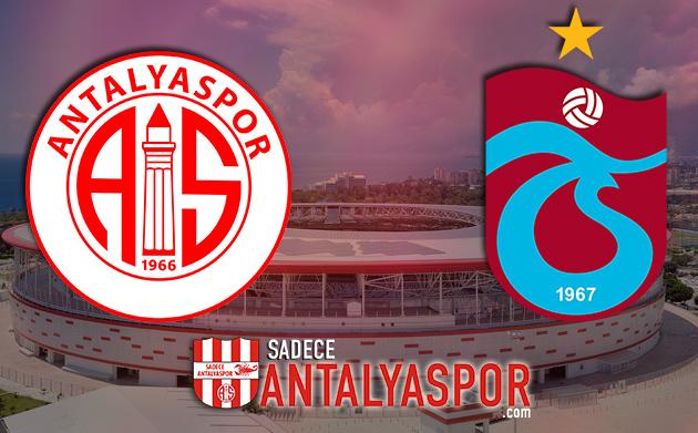 Antalyaspor – Trabzonspor  (İSTATİSTİK)