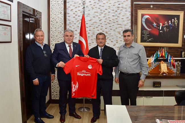 Antalyaspor'dan Uzunkaya'ya Ziyaret