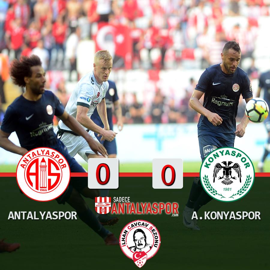 Antalyaspor 0 – 0 Atiker Konyaspor