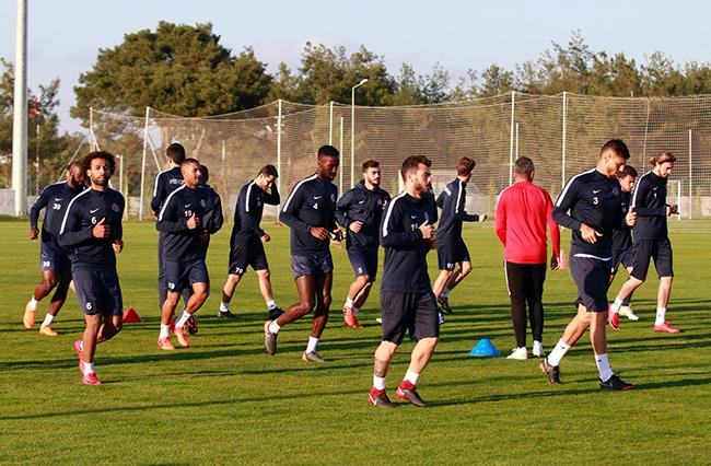 Antalyaspor'da Karabükspor Maçı Hazırlıkları Başladı