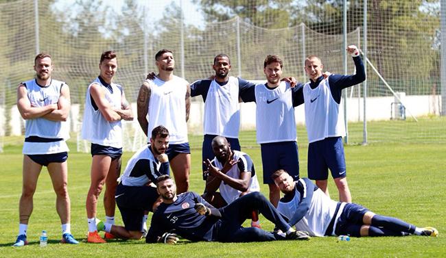 Antalyaspor, Antalya'daki Son Antrenmanını Gerçekleştirdi