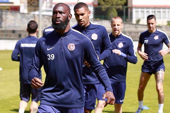Antalyaspor Son Antrenmanını Karabük'te Yaptı