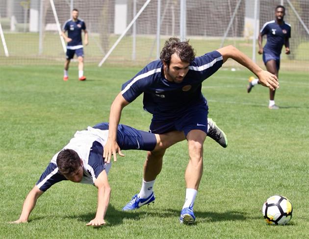 Antalyaspor Son Antrenmanını Gerçekleştirdi