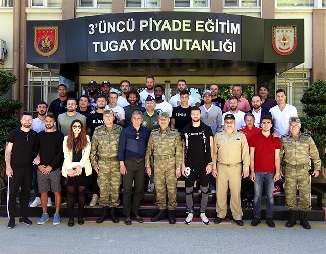 Antalyaspor'dan Garnizon Komutanlığı'na Ziyaret