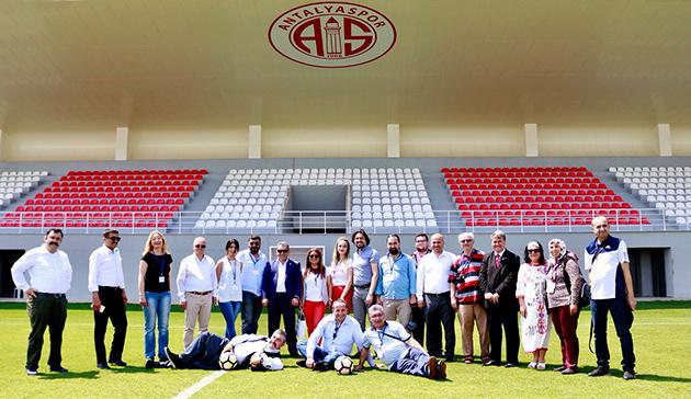 Antalyaspor'un Konuğu Yerel Basın Birliği Üyeleri Oldu
