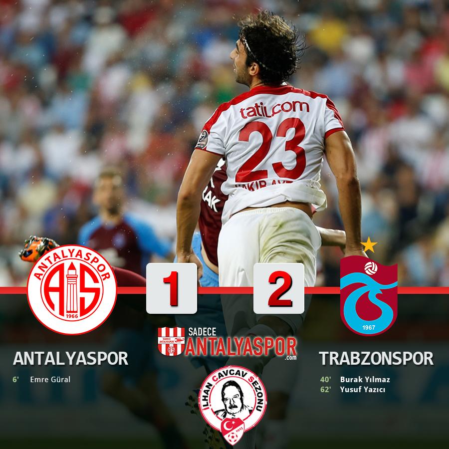 Antalyaspor 1 – 2 Trabzonspor