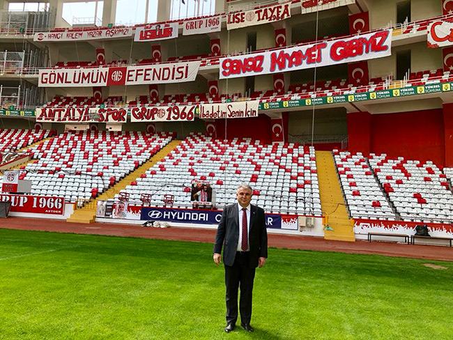 Cihan Bulut'tan Antalya Stadyumu'na Denetim