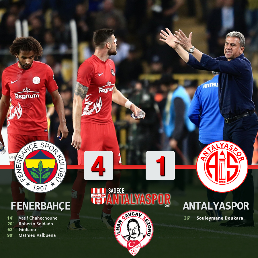 Fenerbahçe 4 – 1 Antalyaspor