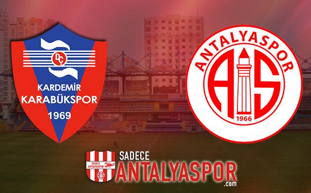 K. Karabükspor – Antalyaspor (KADROLAR)