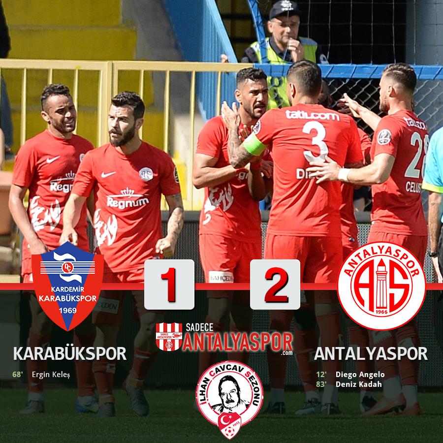 Karabükspor 1 – 2 Antalyaspor