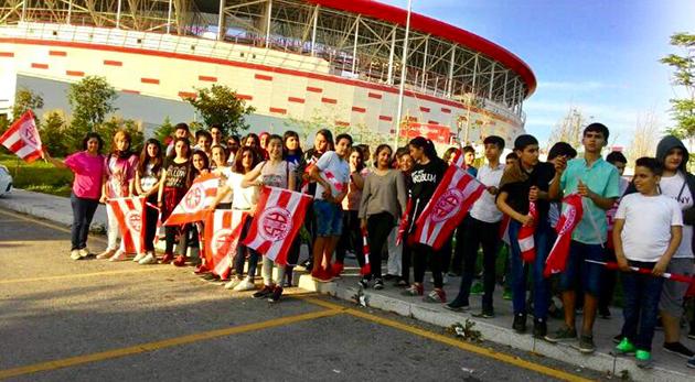 Miniklerden Antalyaspor'a Değerli Destek