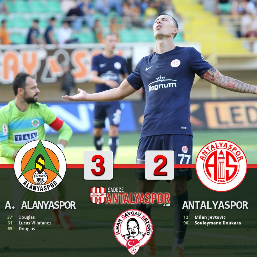 Aytemiz Alanyaspor 3 – 2 Antalyaspor