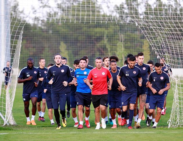 Antalyaspor'da Gençlerbirliği Hazırlıkları Başladı