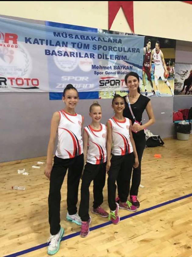 Cimnastik Takımı Kulüplerarası 2.Etap Yıldız Büyük Türkiye Şampiyonası'na Katıldı