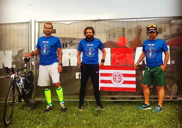 Triatlon Takımı Avusturya'da Yarıştı