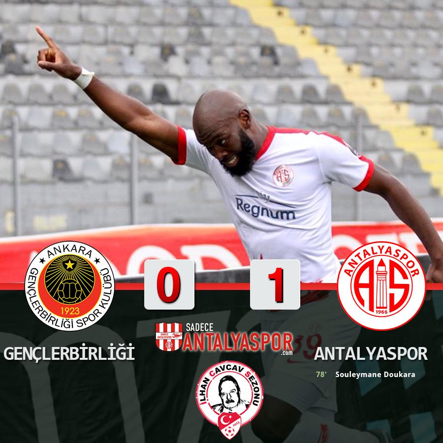 Gençlerbirliği 0 – 1 Antalyaspor