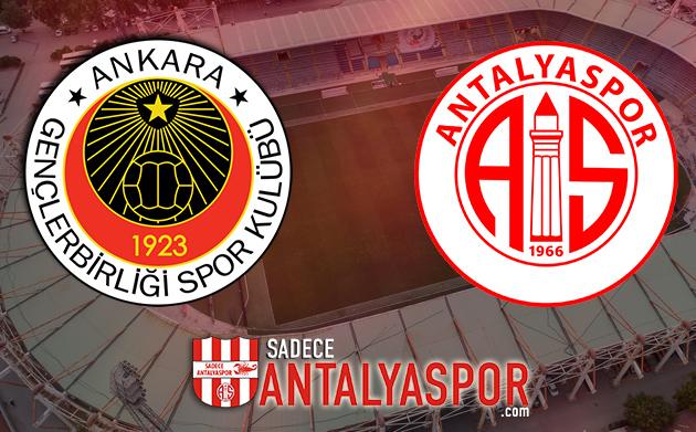 Gençlerbirliği – Antalyaspor (KADROLAR)